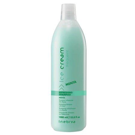 Inebrya szampon miętowy, odświeżający, 1000ml