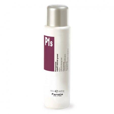 Inebrya P1S, płyn do trwałej ondulacji dla włosów naturalnych i normalnych, 500ml