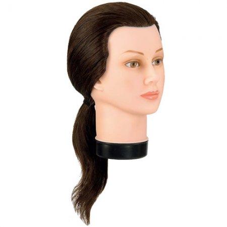 Bergmann główka treningowa Teeny, 100% naturalne włosy, 30-30cm, ref. 091009, 091013