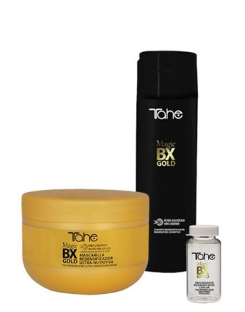 Tahe Magic Bx Gold, zestaw do pielęgnacji domowej po zabiegu botox