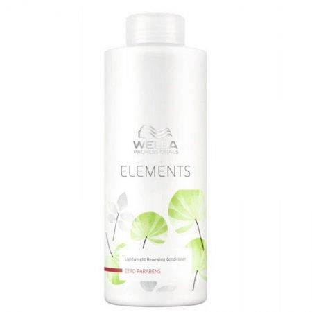 Wella Elements, odżywka regenerująca bez parabenów, 1000ml