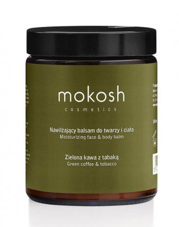 Mokosh, balsam do ciała, zielona kawa z tabaką, 180ml