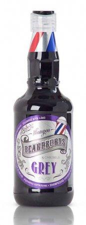 Beardburys Grey, szampon do siwych włosów, 330ml