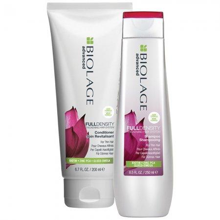 Biolage FullDensity, zestaw dodający objętość, szampon+odżywka, 250ml+200ml