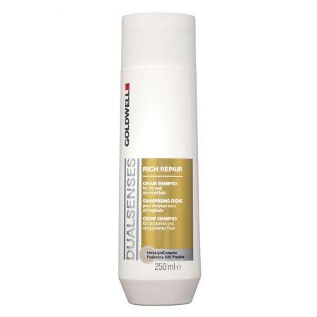 Goldwell Dualsenses Rich Repair, szampon do włosów zniszczonych, 250ml