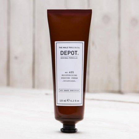 Depot No. 405, nawilżający krem do golenia, 125ml
