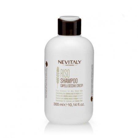 Nevitaly Riso, szampon do włosów suchych, puszących się, 300ml