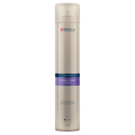 Indola Finish, elastyczny lakier do włosów, 750ml