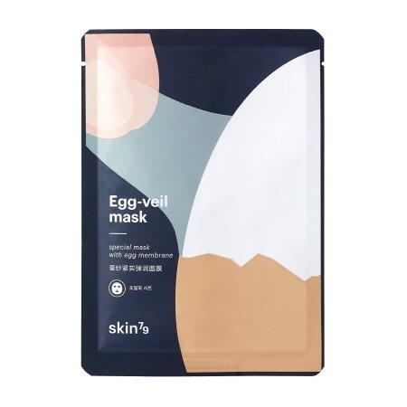 SKIN79, Egg-Veil Membrane Mask, głęboko nawilżająca maska w płacie, 25g
