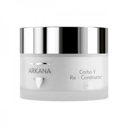 Arkana Carbo Re-Constructor, rekonstruktor twarzy z efektem carbo, 50ml