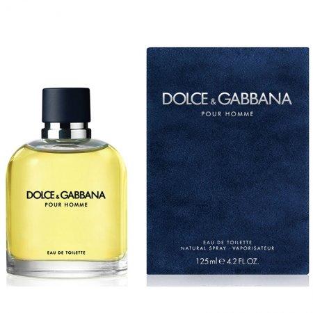 Dolce & Gabbana Pour Homme, woda toaletowa, 125ml (M)