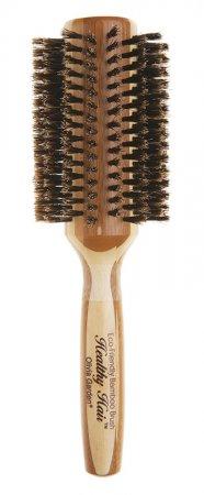 Olivia Garden Healthy Hair Boar, bambusowa szczotka z włosiem z dzika, 40mm