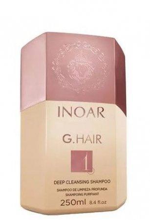 INOAR G-Hair, szampon do kuracji keratynowej, 250ml