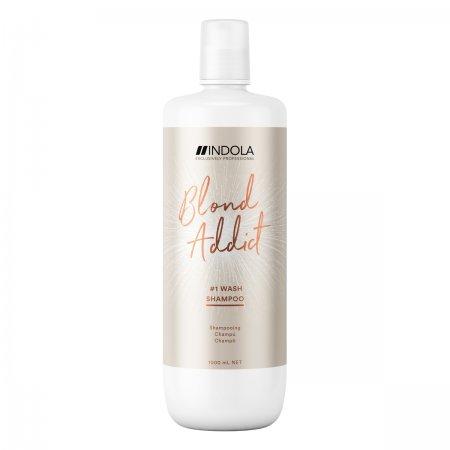 Indola Blond Addict, szampon do włosów blond, 1000ml