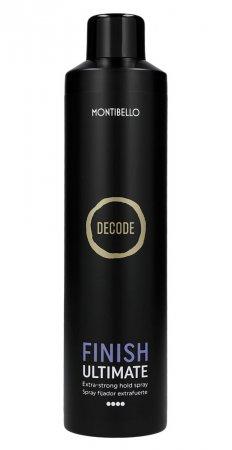 Montibello Decode, bardzo mocny lakier utrwalający Finish Ultimate, 400ml