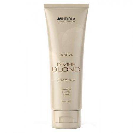 Indola Divine Blond, szampon do włosów blond, 250ml