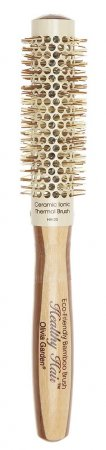 Olivia Garden Healthy Hair Thermal, bambusowa szczotka do modelowania, 23mm