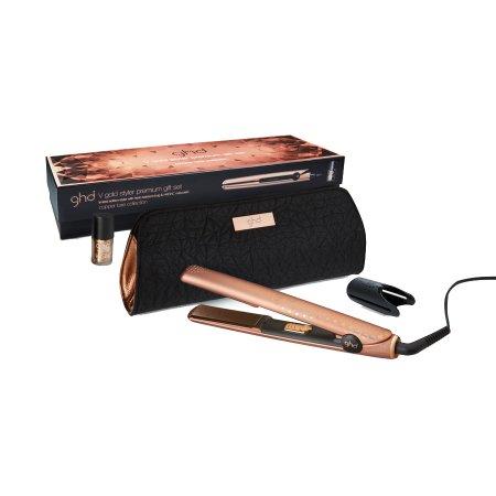 GHD Copper Luxe Edition, prostownica do włosów + lakier do paznokci