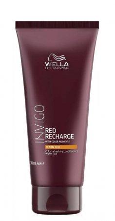 Wella Invigo Recharge, odżywka chroniąca kolor, ciepła czerwień, 200ml
