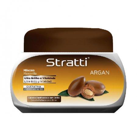 Stratti Argan, maska regenerująca z keratyną, 550g