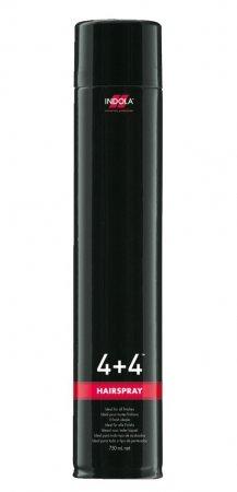 Indola 4+4, bardzo mocny lakier do włosów, 750ml