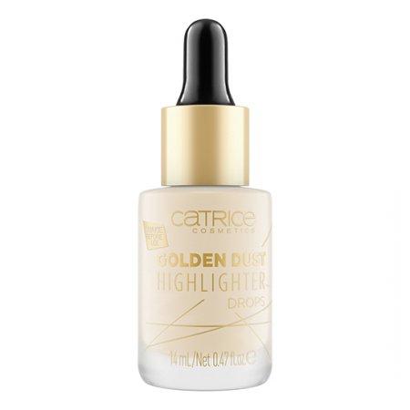 Catrice Golden Dust, kropelki rozświetlające, 14ml