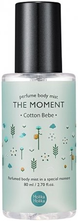 Holika Holika The Moment, mgiełka do ciała, bawełna, 80ml