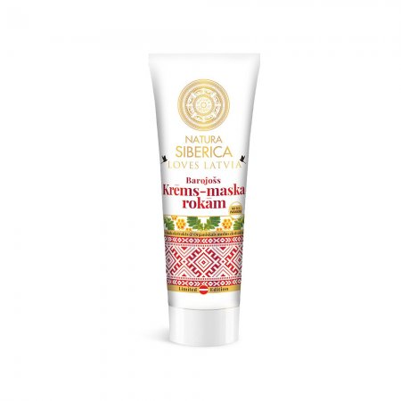 Natura Siberica Loves Latvia, odżywczy krem-maska do rąk, 75ml