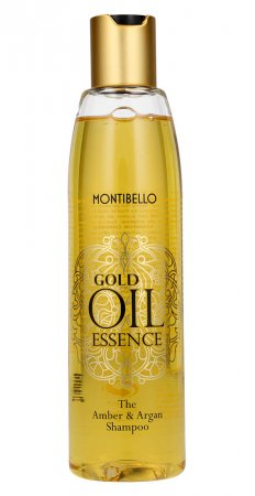Montibello Gold Oil Essence, szampon do włosów, 250 ml