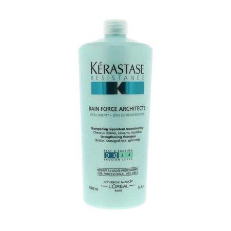 Kerastase Resistance, kąpiel wzmacniająca, włosy ekstremalnie zniszczone, 1000ml
