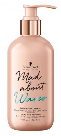 Schwarzkopf Mad About Waves, szampon bez siarczanów do włosów falowanych, 300ml