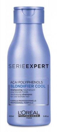 Loreal Blondifier Cool, szampon ochładzający odcienie blond, 100ml