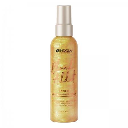 Indola Blonde Addict, spray nabłyszczający do ciepłych odcieni blond, 150ml