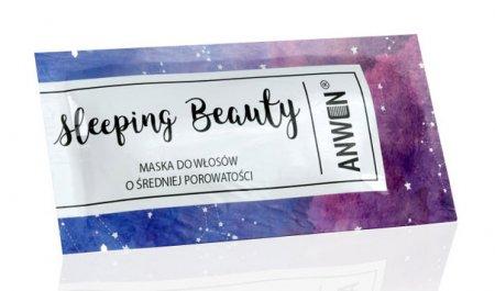 Anwen, maska do włosów o średniej porowatości, Sleeping Beauty, 10ml