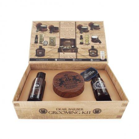 Dear Barber zestaw: szampon 50ml, tonik 30ml, pasta matująca 100ml