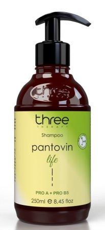 Three Therapy Pantovin Hair Life, szampon wspierający wzrost włosów, 250ml