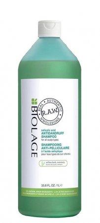 Biolage RAW Scalp Care, szampon przeciwłupieżowy, 1000ml