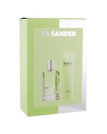 Jil Sander Evergreen, zestaw: Edt 30 ml + Mleczko do ciała 75 ml (W)