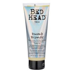 Tigi Bed Head Dumb Blonde, rekonstruktor do włosów zabiegami chemicznymi, 200ml