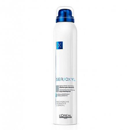 Loreal Serioxyl, spray wzmacniający włosy, szary, 200ml