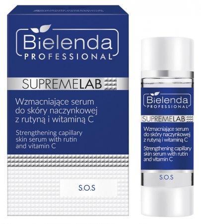 Bielenda Professional Supremelab, S.O.S, wzmacniające serum do skóry naczynkowej, 15ml
