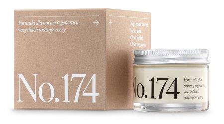 Make Me Bio Receptura 174 REGENERACJA, krem na noc dla wszystkich rodzajów cery, 50ml