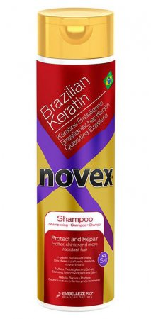 Novex Brazilian Keratin, szampon z keratyną, 300ml
