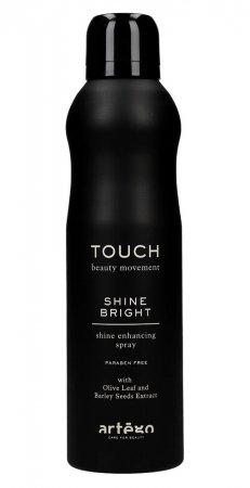 Artego Touch Shine Bright, spray nabłyszczający, 250ml