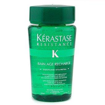 Kerastase Resistance Bain Age Recharge, szampon, kąpiel odbudowująca, 250ml