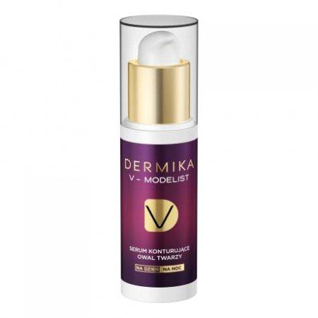 Dermika V-Modelist, serum konturujące owal twarzy, na dzień/noc, 30ml
