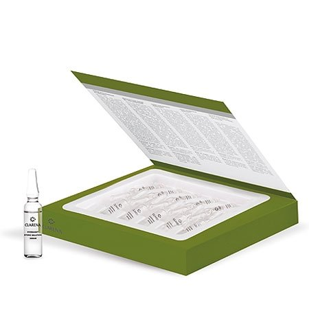 Clarena Eco Atopic Line, wyciszające serum na noc, cera atopowa i wrażliwa, 10x3ml