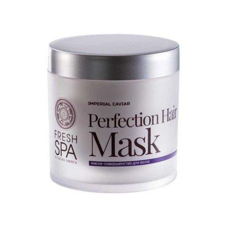 Natura Siberica Fresh SPA, odbudowująca maska do włosów suchych i zniszczonych, 400ml