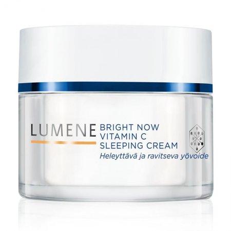 Lumene Vitamin C+, rozświetlająca kuracja odmładzająca na noc, 50ml