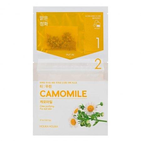Holika Holika Tea:woolin - Camomile, dwuskładnikowa maseczka w płachcie